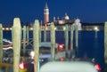 Venice. Winter evening. Royalty Free Stock Photos