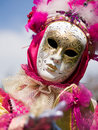 Venitian Carnival in Paris Royalty Free Stock Image