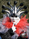 Venitian Carnival in Paris Stock Photo