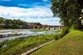 Venta waterfall in Kuldiga, Latvia Royalty Free Stock Photo