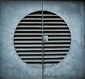 Ventilation shaft with a keyhole Royalty Free Stock Image