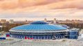 Venue for world championship iihf minsk chyzhouka arena in belarus the official Stock Images