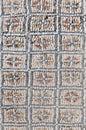 Venus entourage house at volubilis morocco mosaics Royalty Free Stock Photo