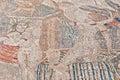 Venus entourage house at volubilis morocco mosaics Royalty Free Stock Image