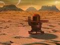 Venus landing Royalty Free Stock Photo