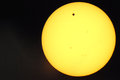Venus transit Stock Photography