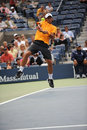 Verdasco Fernando at US Open 2009 (14) Stock Photos
