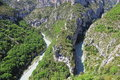 Verdon gorge. Stock Image