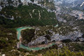 Verdon gorge view at the canyon Royalty Free Stock Photos