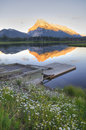 Vermillion Lake at Banff Royalty Free Stock Images