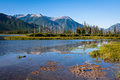 Vermillion lakes banff national park at Stock Images