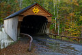 Vermont Covered Bridge Stock Photos