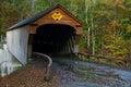 Vermont Covered Bridge Royalty Free Stock Photo
