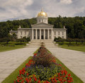 Vermont State Capitol Building Royalty Free Stock Images