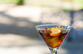 Vermouth cup of with ice Stock Images