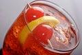 Vermouth and soda Royalty Free Stock Photo