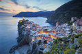 Vernazza Obrazy Royalty Free
