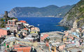 Vernazza, Cinque Terre in Italy Stock Photo