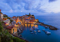 Vernazza in Cinque Terre - Italy Royalty Free Stock Photo
