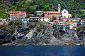 Vernazza village, Cinque Terre, Italy Stock Photography