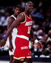 Vernon maxwell houston rockets guard image taken from color slide Stock Photo
