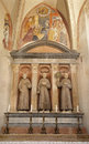 Verona - Altar of Medici chapel in San Bernardino churc Royalty Free Stock Photo