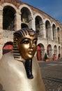 Verona arena Photo libre de droits