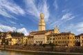 Verona Cathedral and Castel San Pietro - Italy