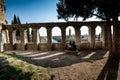 VERONA, Italy - April 04, 2017: Cityscape of Verona, Veneto Royalty Free Stock Photo