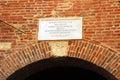 Verona, Italy, the house of Juliet Royalty Free Stock Photo