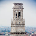 Verona italy panoramic view the old city Stock Photo