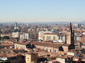 Verona this photo was taken from lamberti s tower in italy Stock Photography