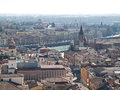 Verona this photo was taken from lamberti s tower in italy Royalty Free Stock Image