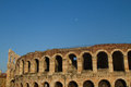 Verona roman arena with clear blue sky Royalty Free Stock Images