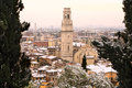 Verona during Winter - Italy Royalty Free Stock Photo