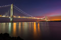 Verrazano Narrow Bridge Royalty Free Stock Photo