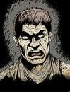 Verärgerter Zombie Lizenzfreie Stockfotos