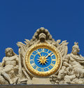 Versailles clock Royalty Free Stock Photography