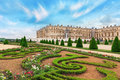 VERSAILLES, FRANCE- JULY 02, 2016 : Beautiful Garden in a Famous Royalty Free Stock Photo