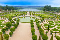 Versailles, France. Park Royalty Free Stock Photo