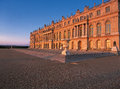 Versailles Palace at dawn Royalty Free Stock Photo