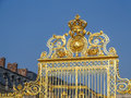 Versailles Palace front gate Royalty Free Stock Photo