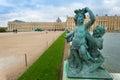 Versailles Palace sculptures Royalty Free Stock Photo