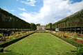 Versailles park of marie antoinette in Stock Photography