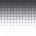 Vertical gradient halftone geometric diamond shape background. Pop art template, texture.