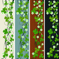 Vertical headers with St. Patrick Royalty Free Stock Photo