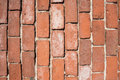 Vertical old brickwall rectangle Royalty Free Stock Image
