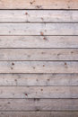 Vertical part softwood fencing Stock Image
