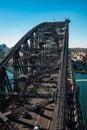 Vertical Perspective of Sydney Harbour Bridge