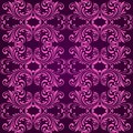 Vertical purple ornamental background Royalty Free Stock Photos